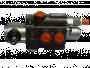 Distributeur monobloc DM 40 1 élément tiroir/commande A8 3 + levier